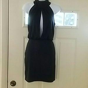 Slit open dress